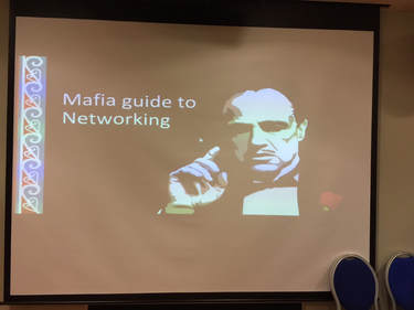 Mafia Guide to Networking - introduces the second Tuesday PopUp Business School Session
